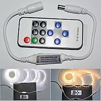 Димер, контроллер одноцветной светодиодной ленты, RF