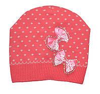 Осенняя шапочка для девочки.