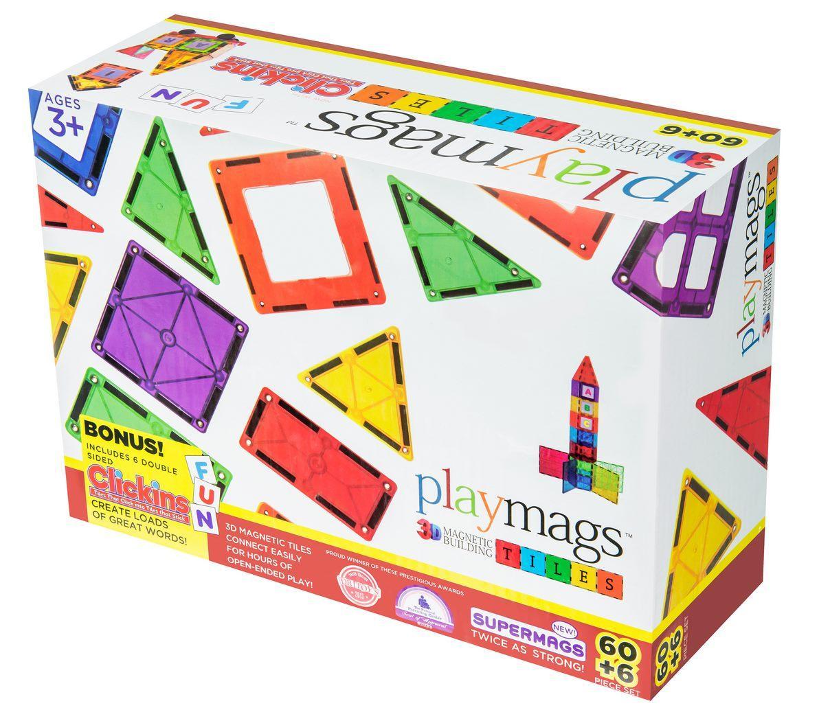 Конструктор Playmags магнитный набор 60 эл. PM158
