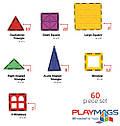 Конструктор Playmags магнитный набор 60 эл. PM158, фото 6