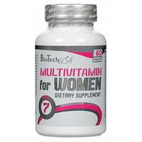 Купить витамины и минералы BioTechUSA Multivitamin for Women, 60 tabl