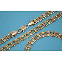 Набор:цепочка длинна 51 см.ширина 7 мм. и браслет длинна 21 см.ширина 7 мм. Позолота .