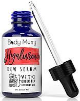 Сыворотка с гиалуроновой кислотой и витамином С Body Merry