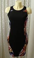 Платье модное стрейч мини Opus London р.48 7583