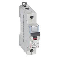 Автоматичний вимикач С 40А 1П 6кА Legrand