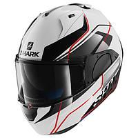 Мотошлем SHARK Evo-One Krono белый красный черный L