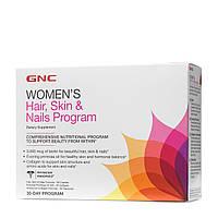 Купить витамины и минералы GNC Hair Skin and Nails Program, 30 pac