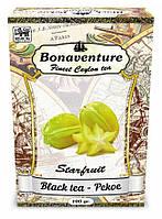 """Чай чёрный Bonaventure """"Starfruit"""" (Карамболь) 100г"""