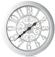 Часы настенные белые Перезвон Тишины