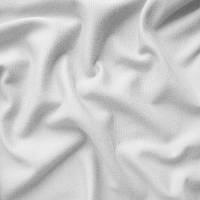Ткань французский трикотаж - цвет белый