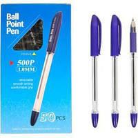 Ручка масляная P 500 фиолетовая