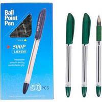 Ручка масляная P 500 зеленая