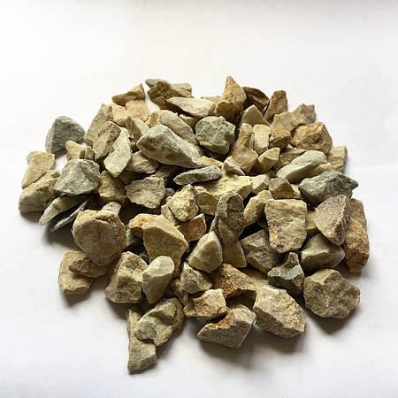 Декоративний щебень Закарпатский бело-желтый 10-20 мм