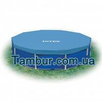 Тент INTEX  для круглого каркасного бассейна (диаметр 366см)