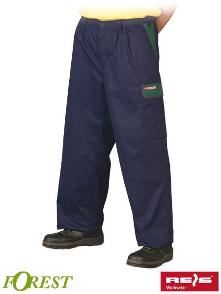 Защитные брюки по талию типа ФОРЕСТ SPF GZ - MEGA SHOP в Львовской области