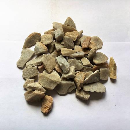 Декоративний щебень Светлый кварц 10-20 мм