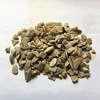 Декоративний щебень Светлый кварц 5-10 см