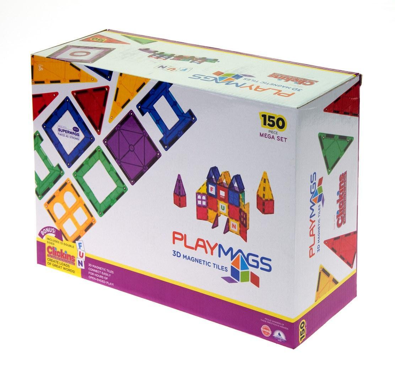 Конструктор Playmags магнитный набор 150 эл. PM156