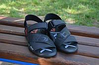 Мужские кожаные сандалии Reebok 12120 черные