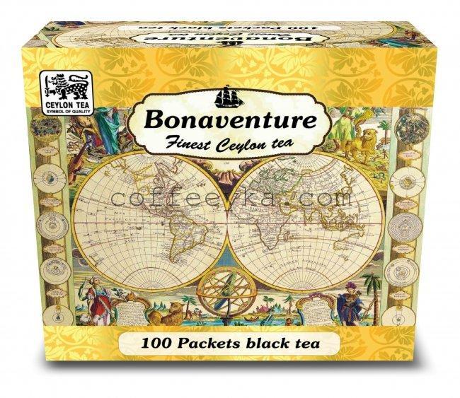 Чай Bonaventure черный пакетированный 100 п.