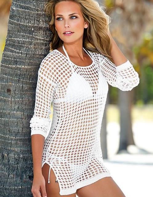 Парео, пляжные туники, платья