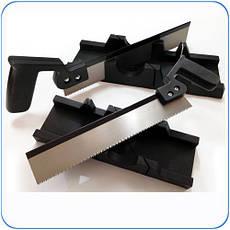 Стусло пластмассовое 65 * 300 мм с ножовкою HTtools