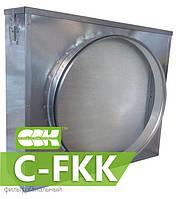 Фильтр канальный для круглых каналов C-FKK-100