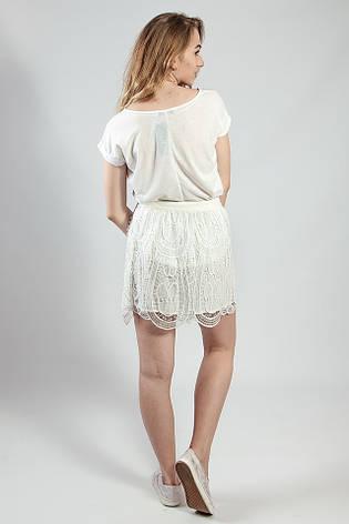 Женская юбка летняя ажурная  Massimo Dutti, фото 2