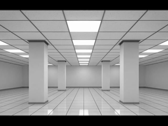 LED панели армстронг вместо люминесцентных светильников.