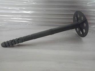 Дюбель зонт 10х100 для крепления пенопласта с пластиковым гвоздём