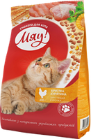 Мяу!- сухой корм для котов,11 кг (рыбный)