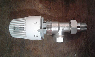 Клапан (кран) термостатический RTL с термоголовкой для контура теплого пола