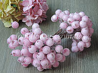 Калина в сахаре Светло-розовая, 1,2 см