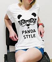 "Женская футболка ""Panda style"""