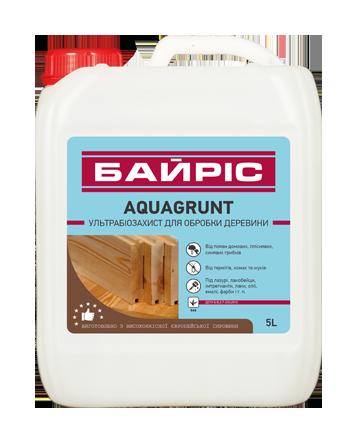 AQUAGRUNT 10л - биозащита для древесины
