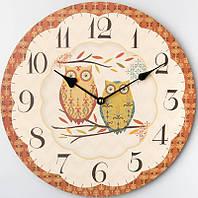 Часы настенные оригинальные Совушки