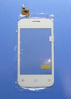 Оригинальный тачскрин / сенсор (сенсорное стекло) для Fly IQ239+ (белый цвет)