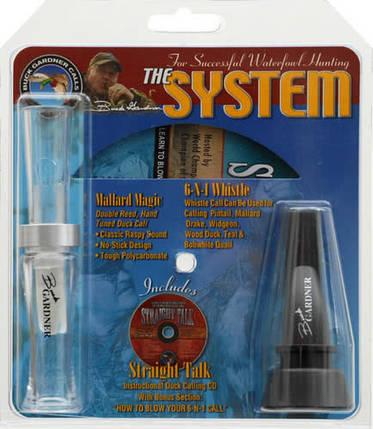 Манок универсальный утку Buck Gardner System Combo Pack, фото 2