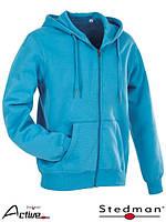 Блуза мужская на застежке с капюшоном SST5610 HWB