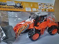 Детская игрушка инерционная машинка Трактор  666-19B