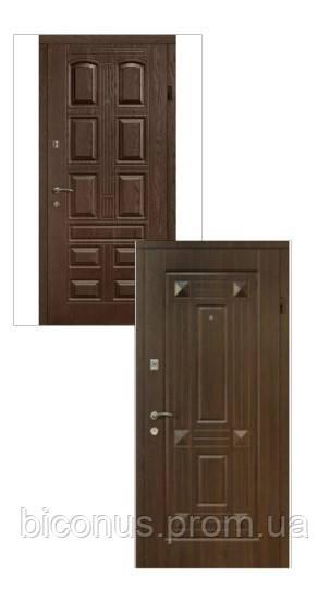 """Двери входные металлические """" СОВА """" серия Престиж Объем (850 х 2040) правая, левая"""
