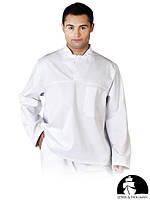 Защитная блуза без пуговиц LH-FOOD+JWB W