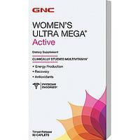Купить витамины и минералы GNC Women's Ultra Mega Active, 90  tabl