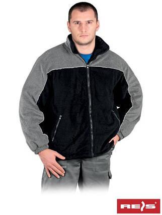 Куртка двухцветная утеплённая из полара высокого качества POL-POLAREX4 BS, фото 2