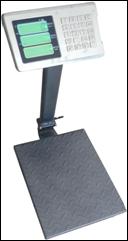 Весы товарные ВПЕ-центровес-304-60ДВ-Э до 60 кг