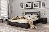 Кровать двуспальная Селена с нишей для белья