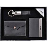 Подарочный набор брелок/ручка/нож/блокнот (3045)