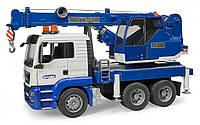 Автокран Bruder MAN TGS 1:16 Бело-синий (03770)