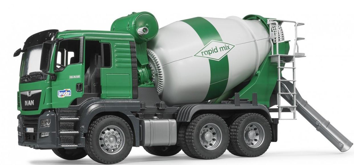 """Бетономешалка Bruder MAN TGS 1:16 (03710) - Интернет-магазин игрушек """"Parktoys-парк игрушек"""" в Днепре"""