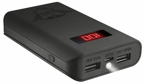 Портативний зарядний пристрій Trust GXT 777 Xore 10000 (зовнішня зарядка для телефону)